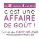 Salon du CAMPING-CAR du 30 avril au 4 mai 2014 !