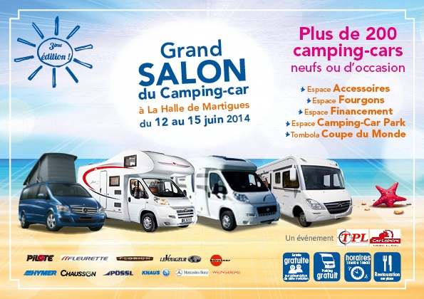 grand salon du camping car la halle de martigues du 12