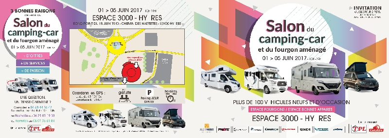 Salon hy res du 01 au 05 juin 2017 for Salon du chiot avignon 2017